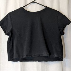 3 For $15 Wild Fable Simple Black Crop Top Sz XL